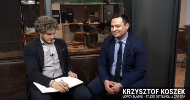 Łowca Blasku – Krzysztof Koszek. Jak maluch trafił do CoSpotu?