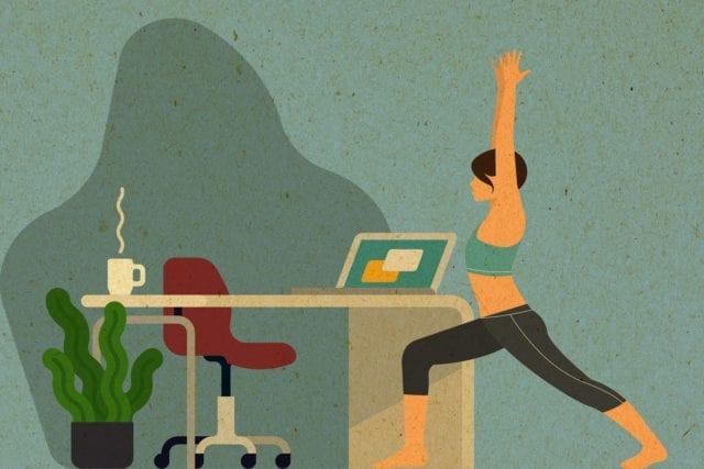 Joga w biurze – zrób to sam